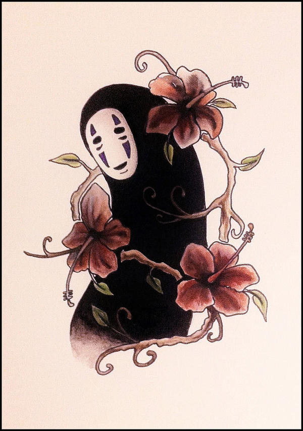 No-Face ~ Kaonashi by Sparkypoo