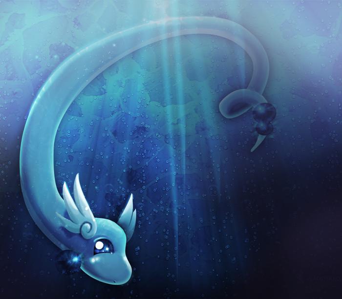 Dragonair -quickie- by KhamomealTea