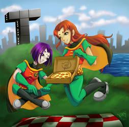 Pizza?? by KhamomealTea