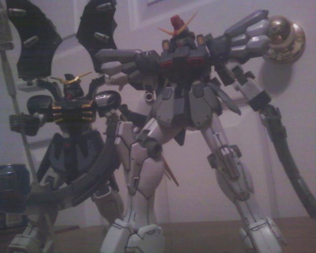 Gundam Wing Deathscythe and Sandrock by JorundShadefur