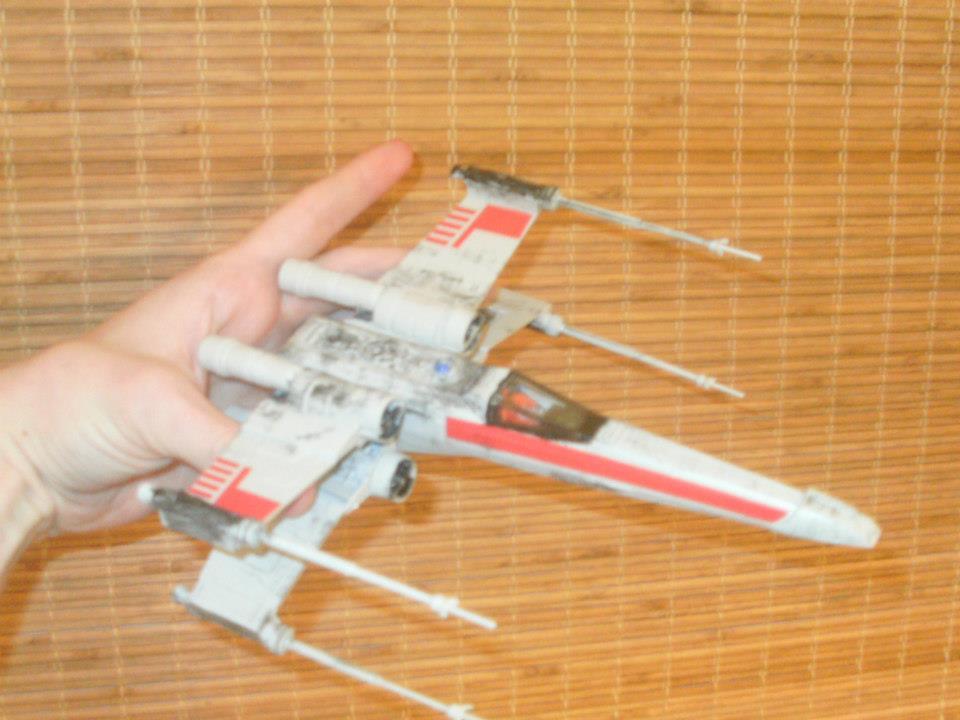 Battle-Hardened X-Wing by JorundShadefur