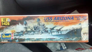 USS ARIZONA (MODEL KIT)