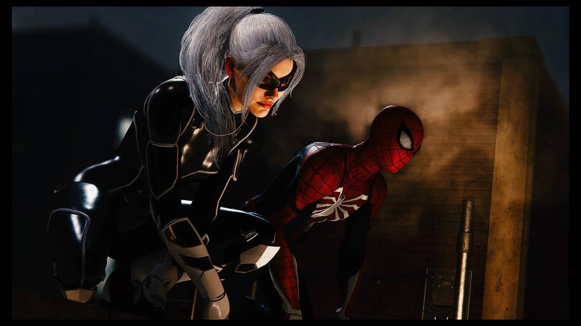 Spider-Man and Black Cat by JorundShadefur