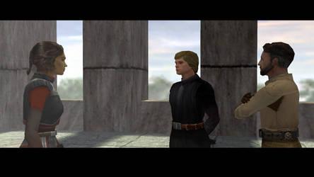 Jedi Knight. Jedi Academy. by JorundShadefur