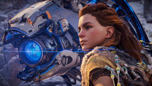 Aloy and her Watcher