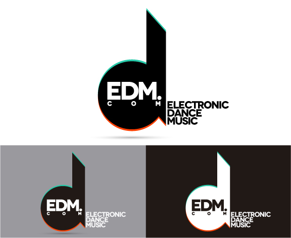 EDM.com | Logo Design by johny01 on DeviantArt