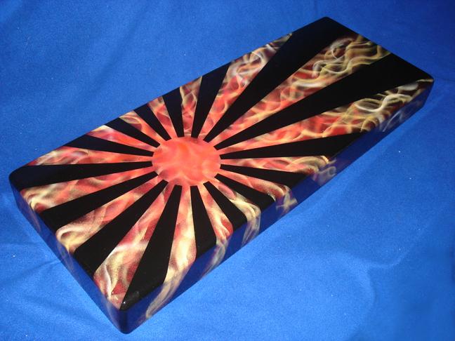 Flaming Fighting Hinomaru by invader-gir