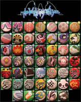 TWEWY pins 47 by invader-gir