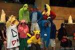 Pokemon hoodie group