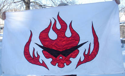 Gurren Lagann Flag by invader-gir