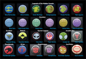 Television Button Chart by invader-gir