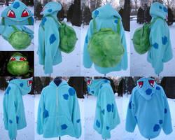 Bulbasaur Hoodie by invader-gir