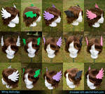 Wing Hairclips