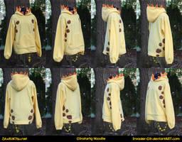 Girafarig Hoodie by invader-gir