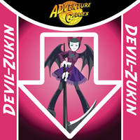 DDR arrow desing Devil-Zukin by invader-gir