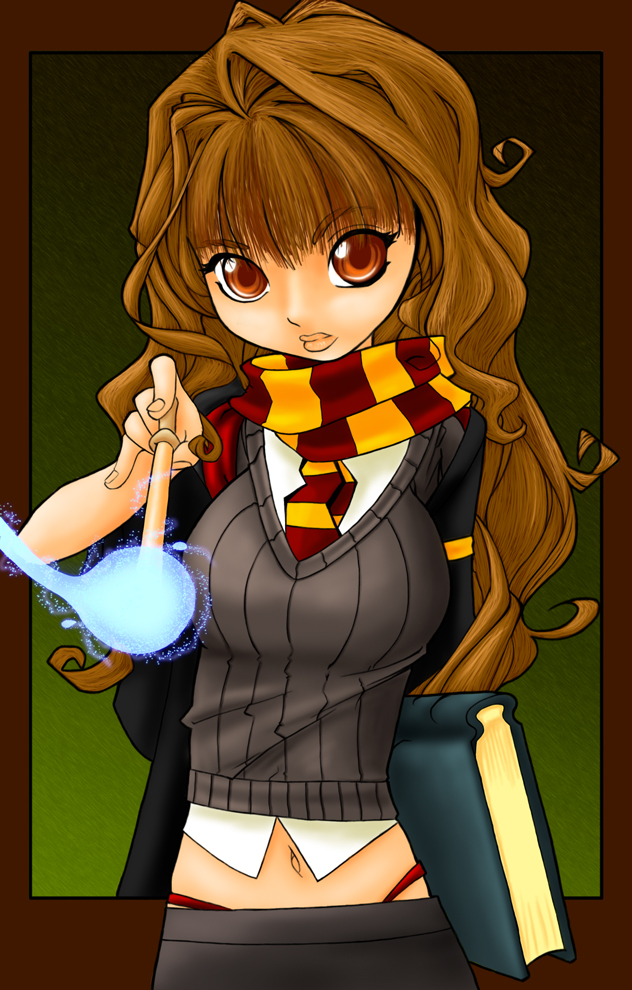 Lap spank hermione snape