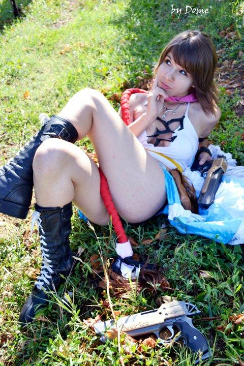 yuna cosplay final fantasy by ange-lady-yunashe