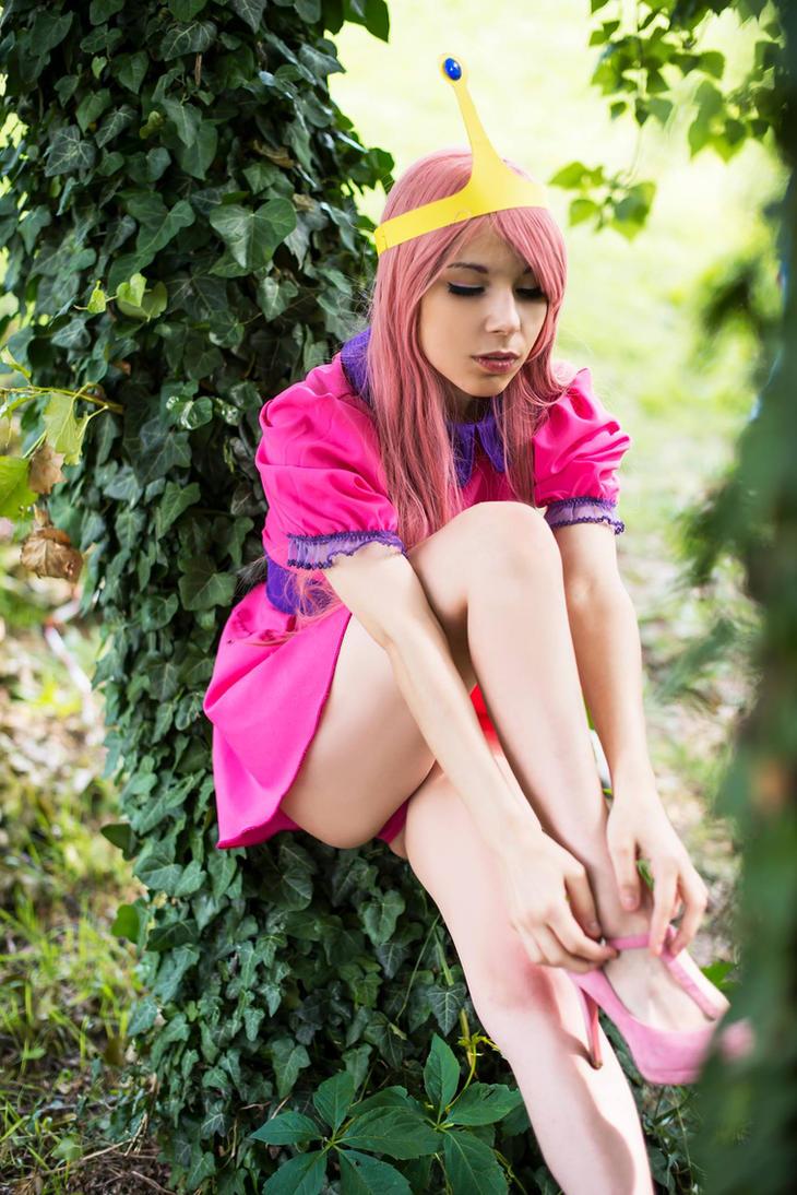 Princess bubblegum cosplay by ange-lady-yunashe