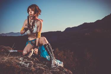 Yuna gunner cosplay by ange-lady-yunashe