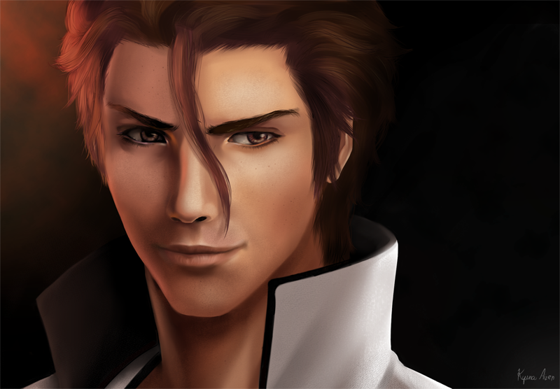 Anime Characters Realistic : Realistic aizen by kyuyoukai on deviantart