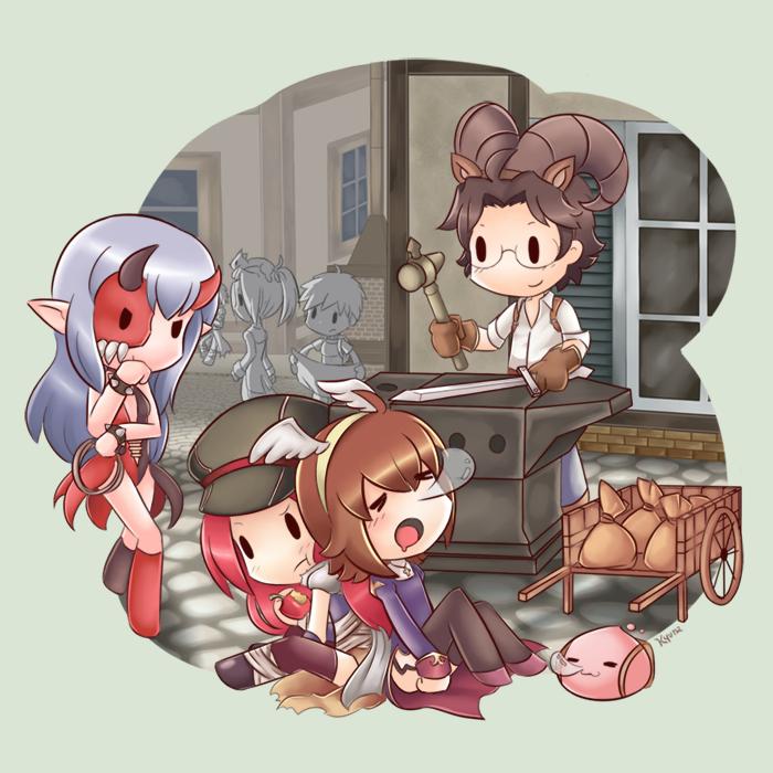 Ragnarok Online Chibi by kyuyoukai