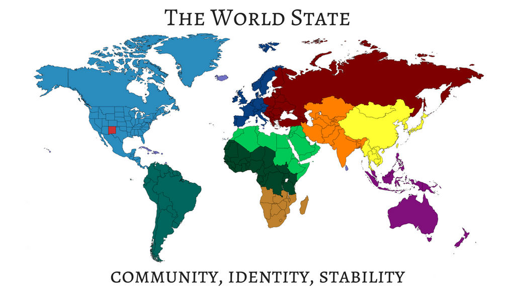 Brave New World Map The World State: Brave New World Map by Sylver frost on DeviantArt