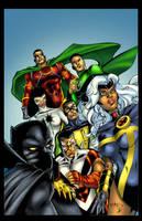 African American Superheroes by GreeneLantern