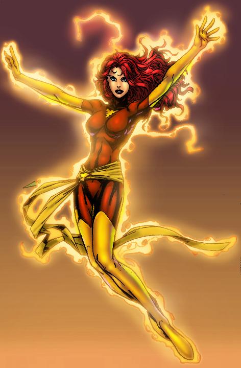 Phoneix version 2 Dark Phoenix by GreeneLantern