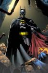 Batman pin up