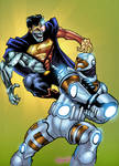 Cyborg vs Cyborg Superman