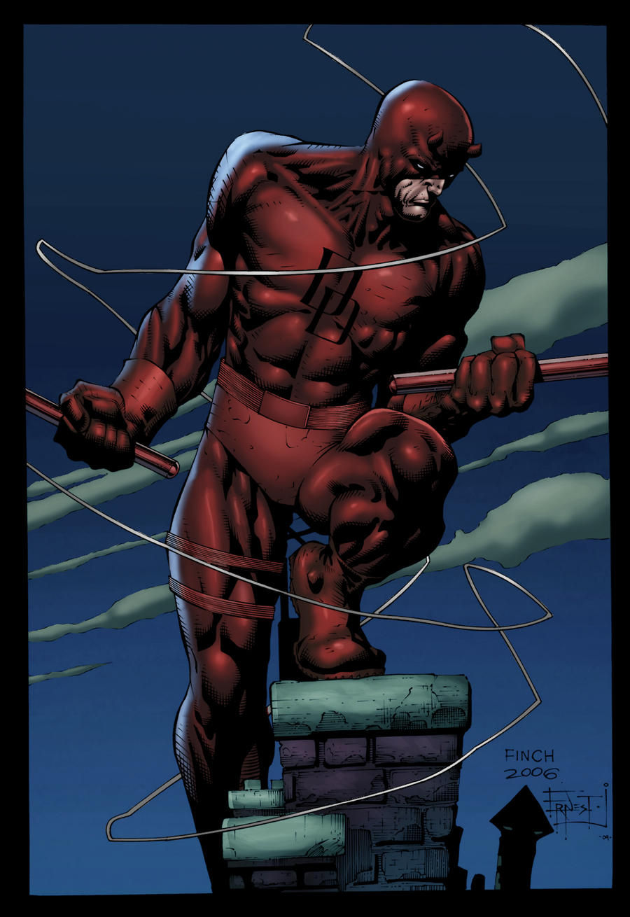Daredevil by David Finch by GreeneLantern