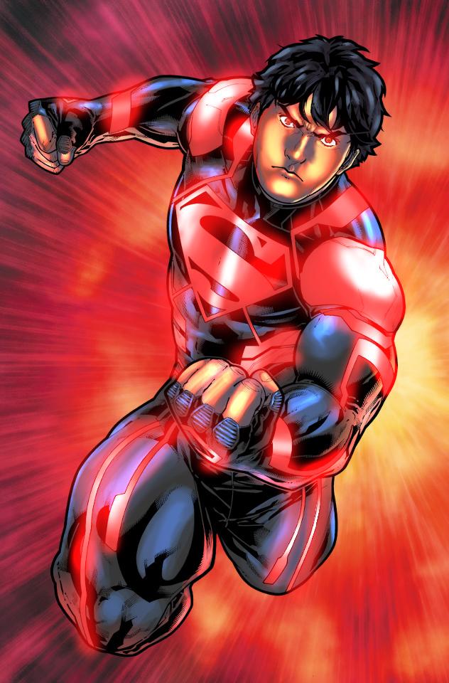 NEW52 Superboy by GreeneLantern on DeviantArt