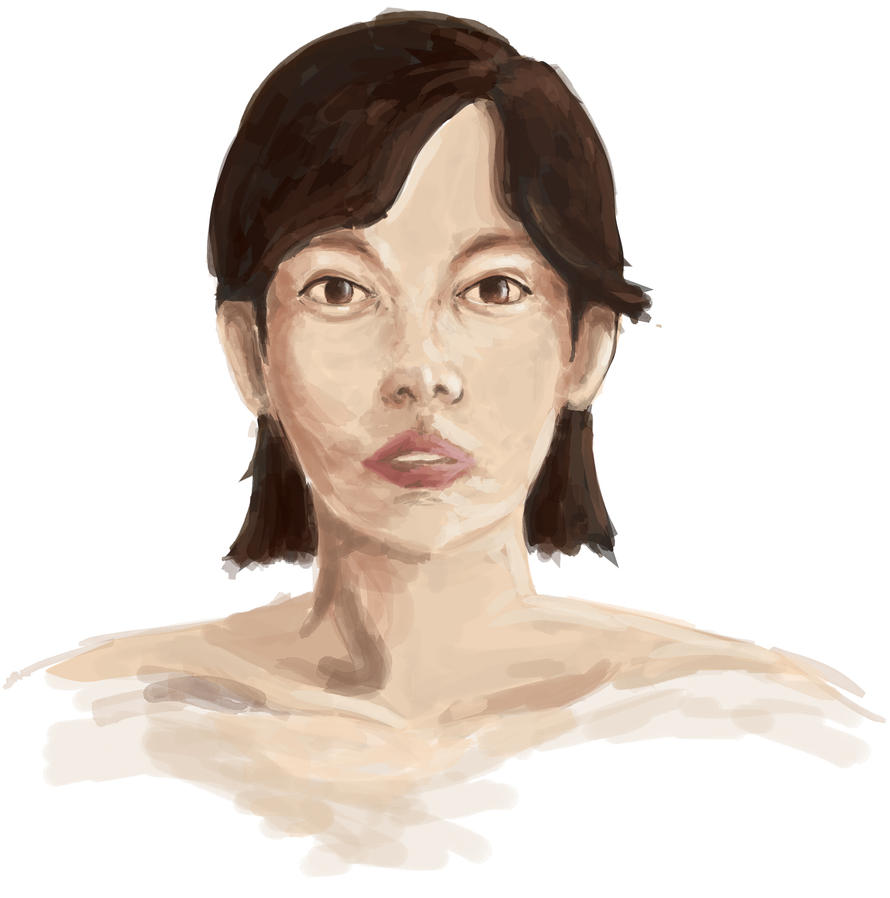 First Digital Portrait by rossparsons
