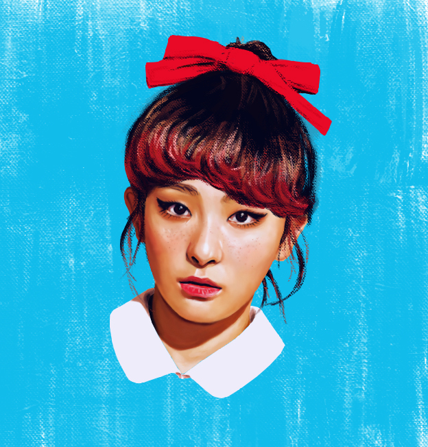 Red Velvet (Seulgi) - The Red by rossparsons