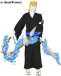 Bleach OC: Nakamura Ryuuhei (Colored)