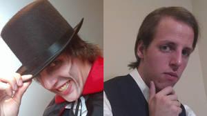 Dr. Jekyll and Mr. Hyde (Closeups) by AnimeVeteran