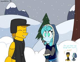 Winter Rain by AnimeVeteran