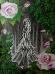 Ghost of a Rose by KBarbarArt