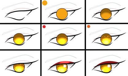 Ayumu Taiyo Eye Tutorial by PuzzleEmerald