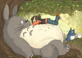 My Totoro by Ptirat