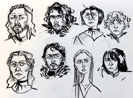 Stark family by Ptirat