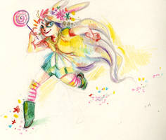 Bunny girl by Ptirat