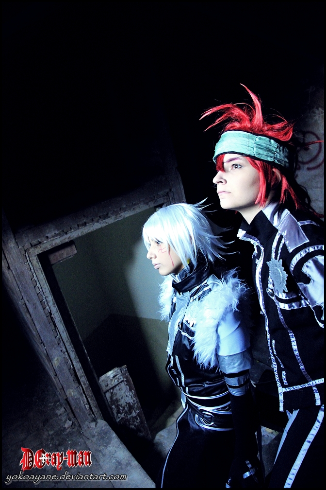Allen and Lavi Cosplay by YokoAyane