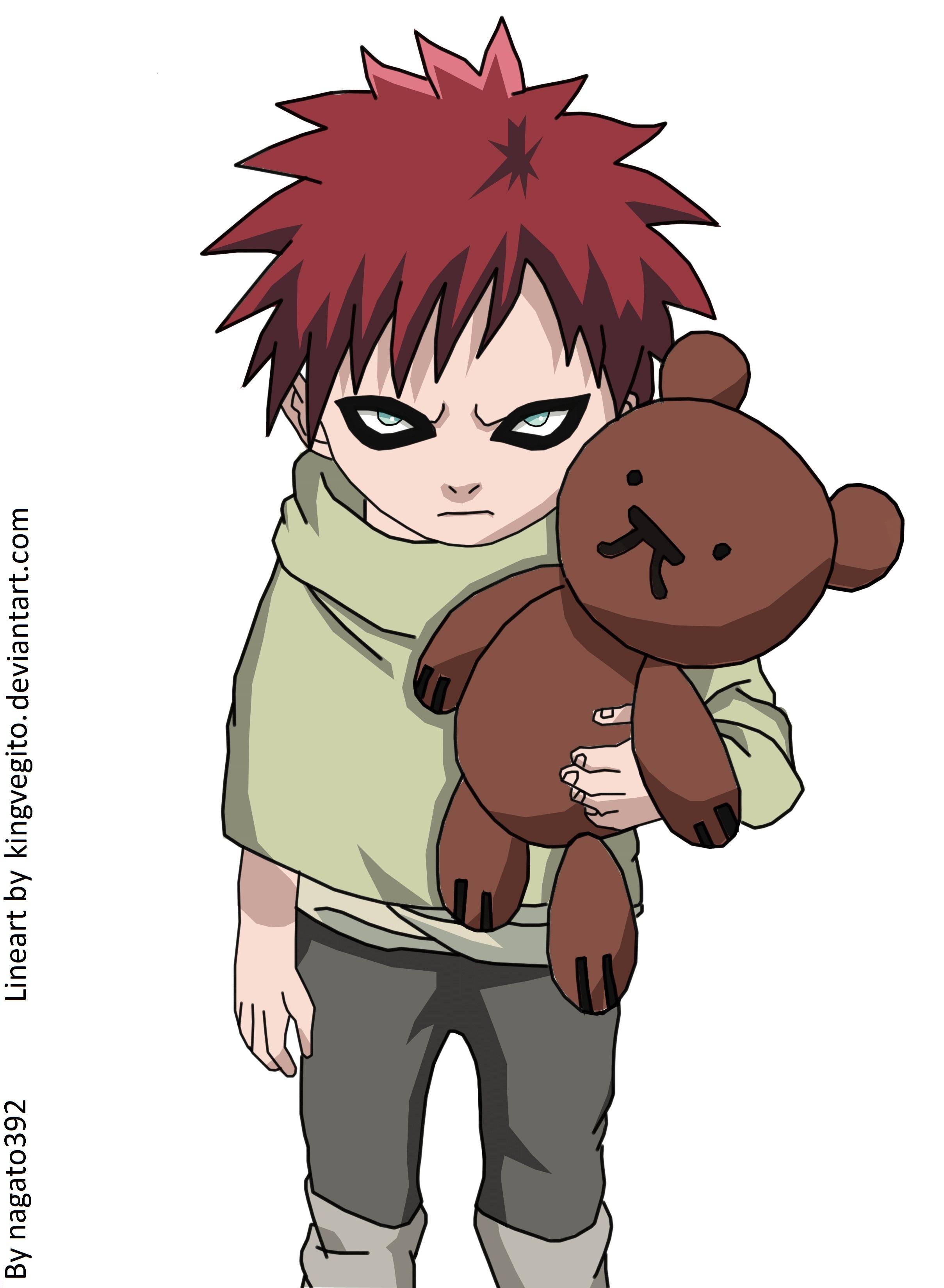 Favorite Naruto character as a kid! Gaara And Naruto Kids