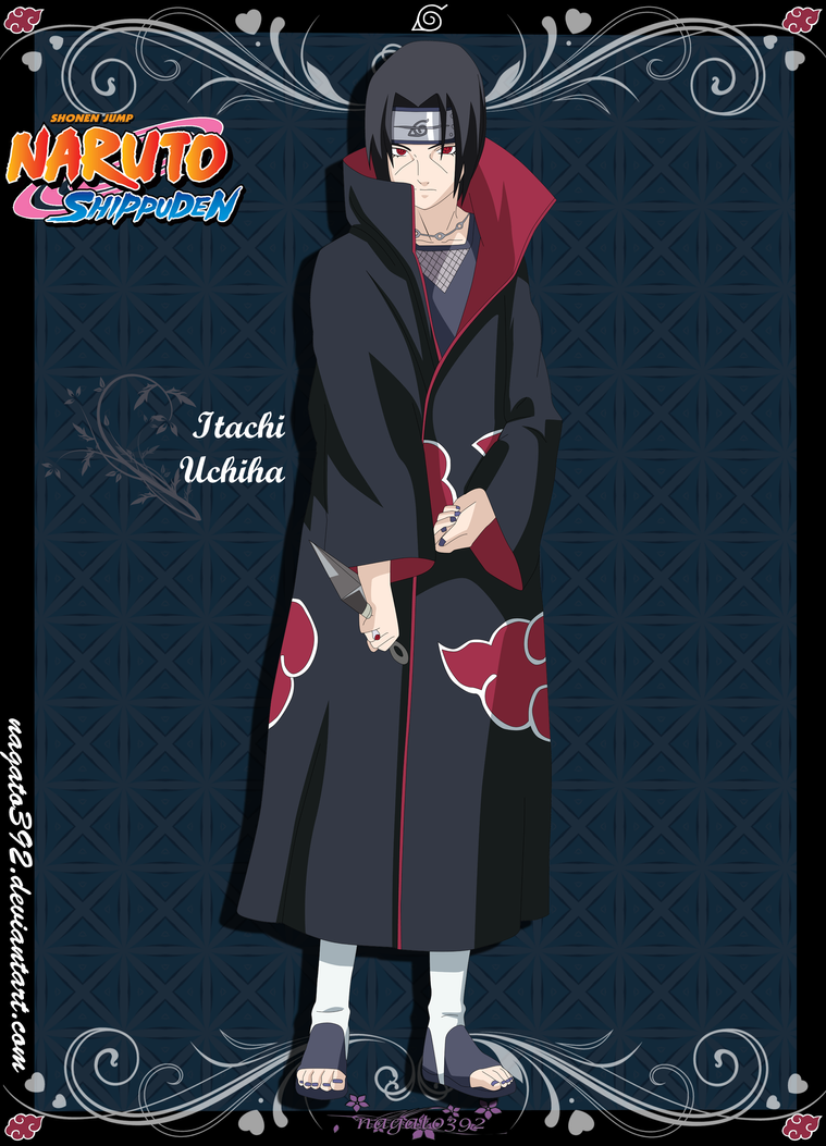 Itachi Uchiha by nagato392 on DeviantArt