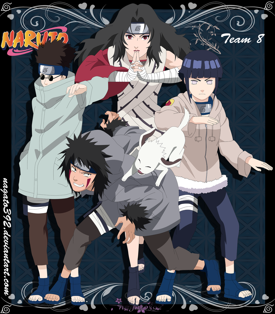 Naruto Team 8 Team 8 by nagato392Naruto Team 8