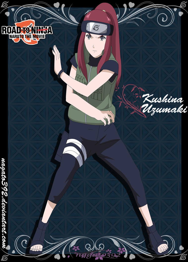 Kushina Uzumaki-RTN- by nagato392 on DeviantArt