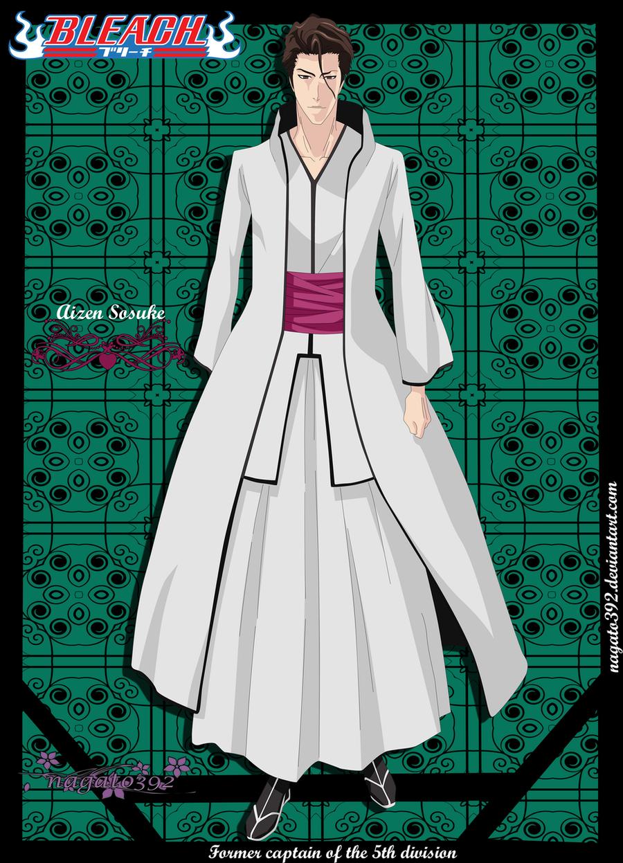 Aizen Sosuke by nagato392