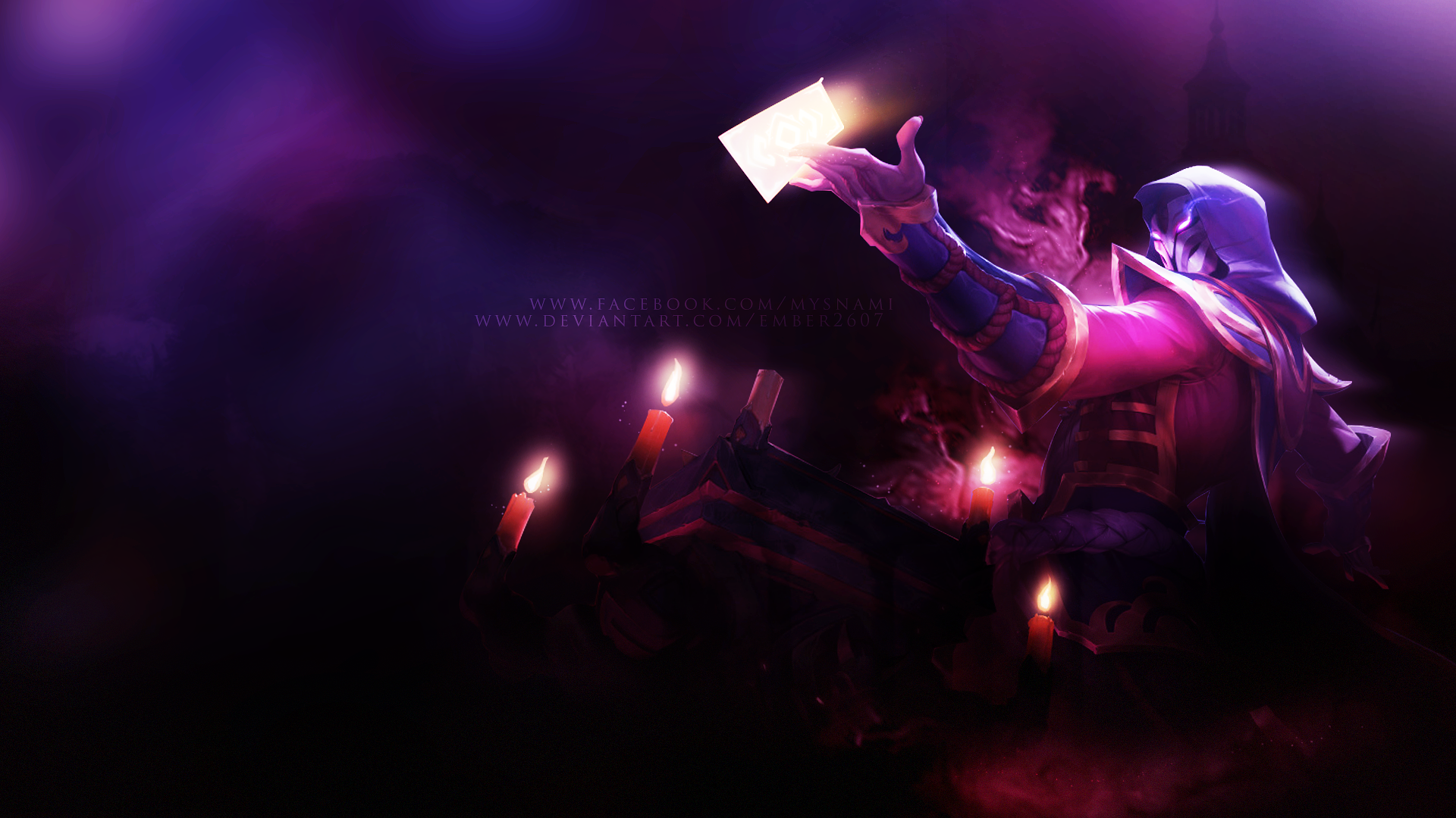 Blood Moon Twisted Fate Wallpaper By Ember2607 On Deviantart