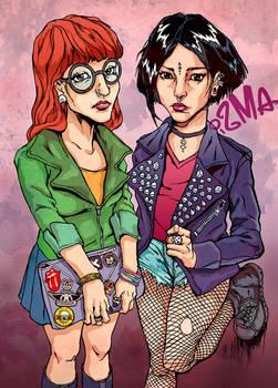 Daria and Jane (badass version)